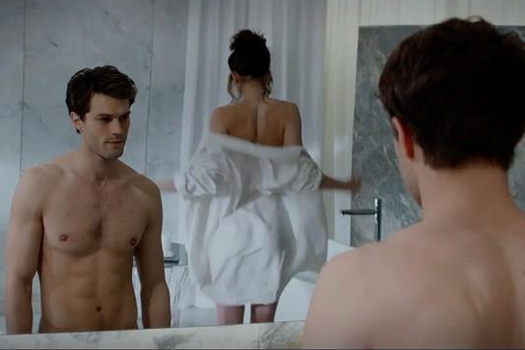 Still From Film Trailer For 50 Shades of Grey